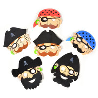 Foam Pirate Masks