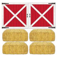Barn Loft Door and Hay Bale Props Add-Ons