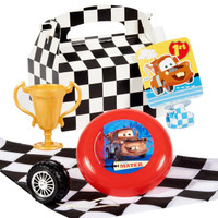 Disney 1st Birthday Cars Party Favor Box