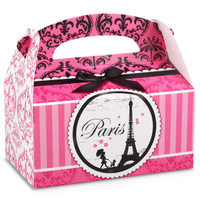 Paris Damask Empty Favor Boxes
