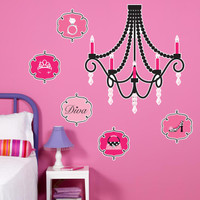 Diva Zebra Print Giant Wall Decals