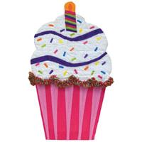 Cupcake Giant Pinata