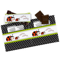 Ladybug Small Candy Bar Wrappers