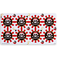 Pirates Small Lollipop Sticker Sheet