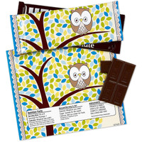 Blue Owl Large Candy Bar Wrappers