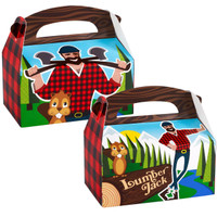 LumberJack Empty Favor Boxes