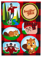 LumberJack Sticker Sheets