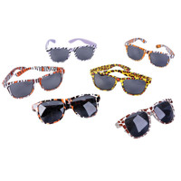 Safari Print Sunglasses