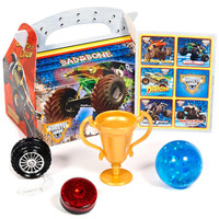 Monster Jam 3D Party Favor Box