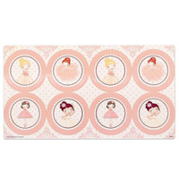 Ballerina Tutu Large Lollipop Sticker Sheet