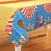 Carnival Games Plastic Tablecover