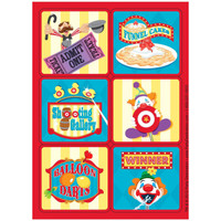 Carnival Games Stickers