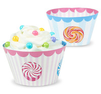 Candy Shoppe Cupcake Wrappers