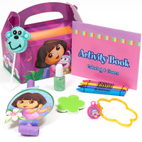 Dora's Flower Adventure Filled Party Favor Box