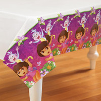 Dora's Flower Adventure Plastic Tablecover