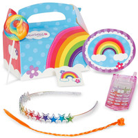 Rainbow Wishes Party Favor Box