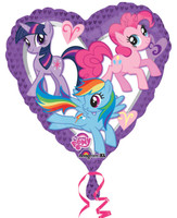 My Little Pony Friendship Magic Foil Balloon