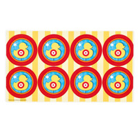 Carnival Games Small Lollipop Sticker Sheet