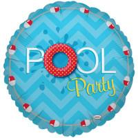 Splashin' Pool Party Foil Balloon