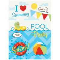 Splashin' Pool Party Sticker Sheets