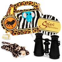 Safari Adventure Party - Party Favor Box