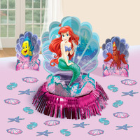 Disney The Little Mermaid Sparkle Tabletop Decorating Kit