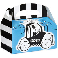Cops and Robbers Party Empty Favor Boxes