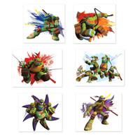 Nickelodeon Teenage Mutant Ninja Turtles Tattoo Sheets