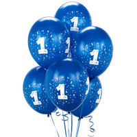 Royal Blue #1 Balloons
