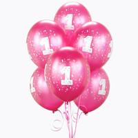 Magenta #1 Balloons