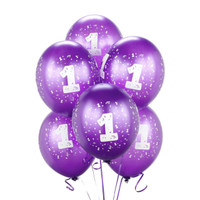 Purple #1 Balloons
