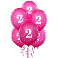Pearl Hot Pink #2 Latex Balloons