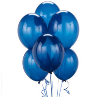 Crystal Blue Balloons