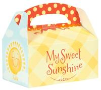 Little Sunshine Party Empty Favor Boxes