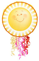 Little Sunshine Party Pull-String Pinata