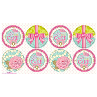 Let Them Eat Cake Large Lollipop Sticker Sheet
