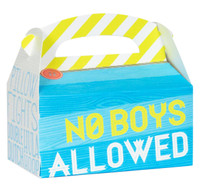 Girls Only Party Empty Favor Boxes