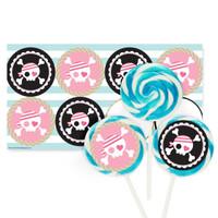 Pretty Pirates Party Large Lollipop Kit