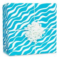 Caribbean Zebra Gift Wrap Kit