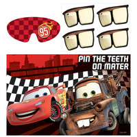 Disney Cars Dream Party - Pin the Headlight Party Game