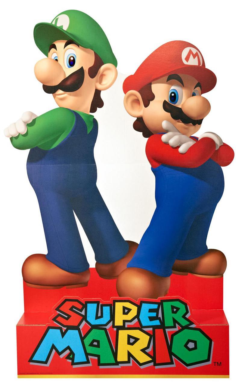 Super mario party mario luigi standup 5 39 tall - Luigi mario party ...