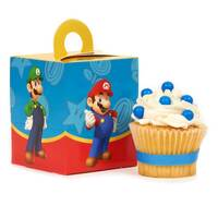 Super Mario Party Cupcake Boxes