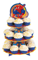 Spider Hero Dream Party Cupcake Stand
