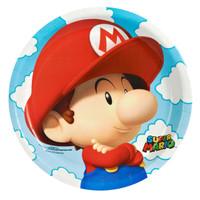 Super Mario Bros. Babies Dinner Plates (8)
