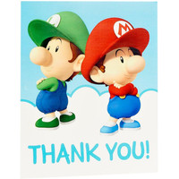 Super Mario Bros. Babies Thank-You Notes (8)