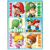 Super Mario Bros. Babies Sticker Sheets (4)