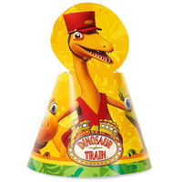 Dinosaur Train Cone Hats (8)