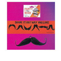 Moustache Six Way (Black)
