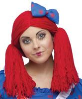 Raggedy Ann Wig w/Hat