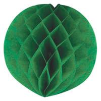"""Green 12"""" Honeycomb Ball"""